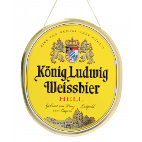 Weissbier Thekenschild
